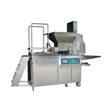 Automated Commercial Mini Burger Maker Hamburger Press Making Machine