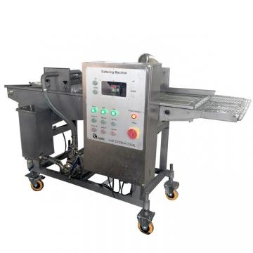 200mm Belt Width Continuous Meat Chicken Battering and Breading Machine